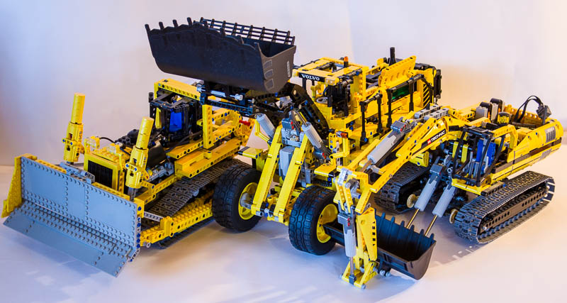 Fonkelnieuw REVIEW] 42030 - Volvo L350F Wheel Loader - Page 12 - LEGO Technic MW-12