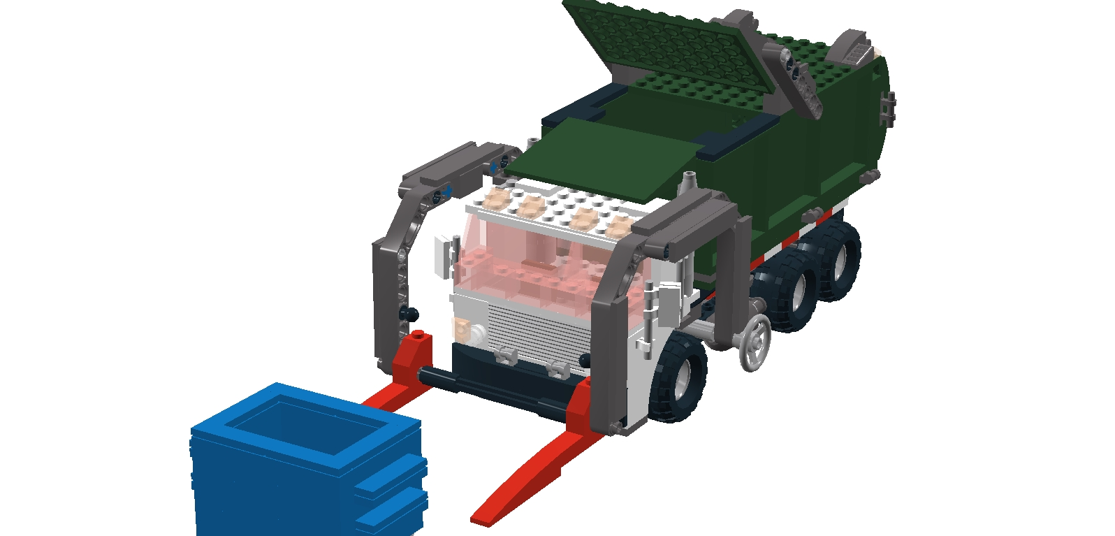 Key Topic Official Lego Sets Made In Ldd Page 2 Digital Heavy Hauler 7998 7599 Garbage Truck Getaway