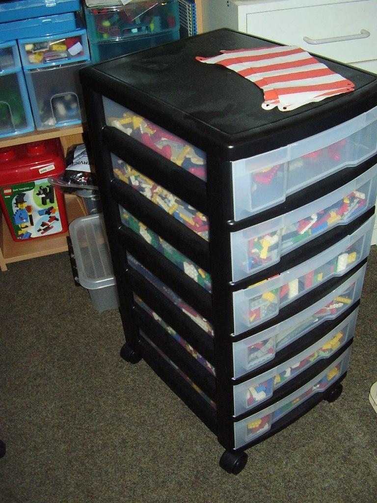 Verrassend Lowlug • Bekijk onderwerp - Lego opbergen in ladenkastjes. OU-06