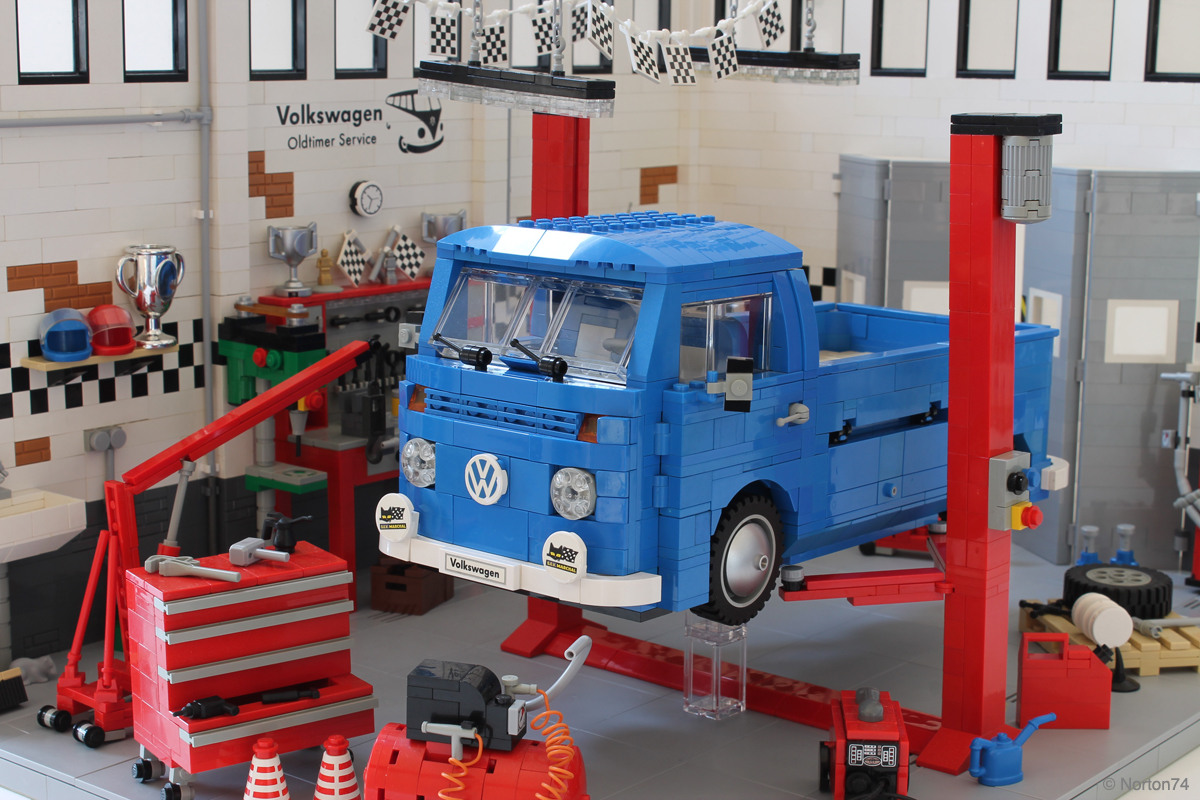 lego garage ideas - lego ideas garage oldtimer volkswagen lego ideas garage