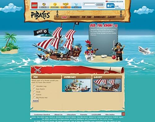 LEGO.com Pirates