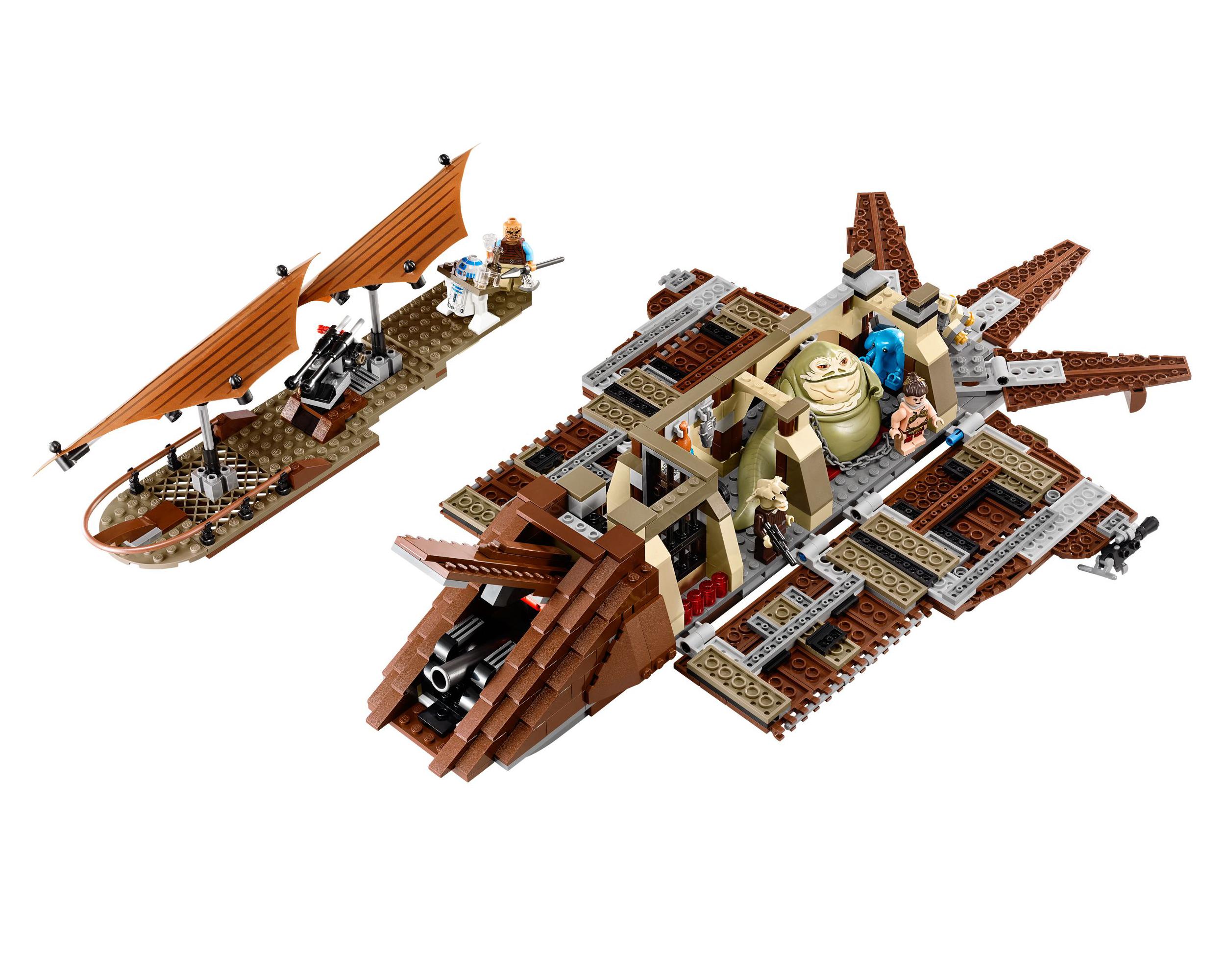 lego star wars 75020  jabba's sail barge  kaskus  the