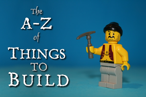A-Z of things to build